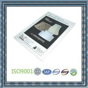 Cheap lamp catalogue printing, product catalogue printing, catalogue printing for sale