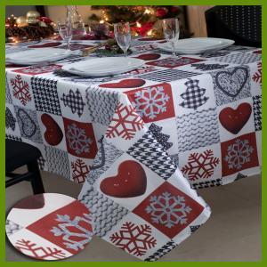 Buy cheap Hot selling Chrismas Snowflake n heat kids designs printed table decrational from wholesalers