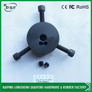Hydraulic Excavator Parts Rubber Iron Gear Spline Genuine Material