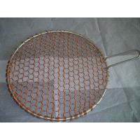 Cheap copper round barbecue grill netting wholesale