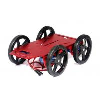 Cheap Arduino Mobile Platform 4WD Drive Aluminum Mobile Robot Car Chassis for sale