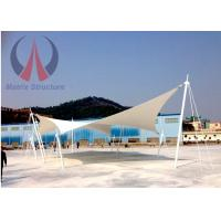Cheap Custom Lightweight Tensile Fabric Structures Canvas Covered Buildings UVA Resistant wholesale
