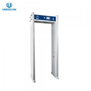 China Single Zone IP67 7 LCD 8KHZ Door Frame Metal Detector on sale