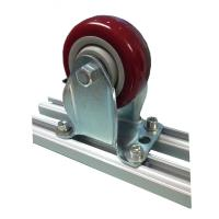 Buy cheap Swivel Top Plate Caster Connect Aluminum Alloy Tube For Pipe Racking from Wholesalers