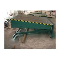 Cheap 8 ton hydraulic fixed dock leveler / electric dock leveler, 8000kg forklift container ramp for sale