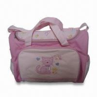 Cheap Diaper Bag, Made of Polyester, Measuring 16 x 6.5 x 12.25 Inches for sale