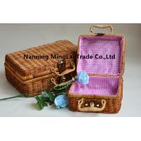 China hot selling hand weaving fashion eco-friendly  picnic basket/storage basket from Guangxi,China on sale