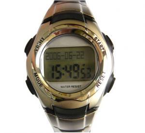 Cheap Men Multifunctional Digital Watch Countdown Timer Muslim Prayer Watch for sale