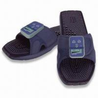Cheap Feel Welaxe Massaging Slippers with Therapeutic Massage Soles and Leg Clamps for sale
