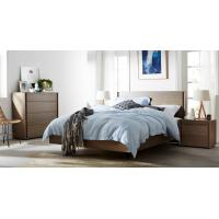 Cheap Apartment Furniture Modern design Bedroom sets of Single Bed with Nightstand and Drawer Chest for sale