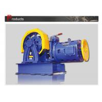 Cheap Elevator Parts / Geared Traction Machine With AC Motor , Load 800 - 1000 KG  SN-TMYJ210A wholesale
