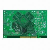 Cheap 4-layer Computer Card Board with HASL and Gold Fingers Surface Treatment for sale