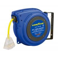Cheap Goodyear Plastic Spring Driven Cord Reel With 40' Length 125V Cord wholesale