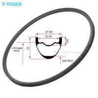 Cheap 7-tiger carbon mtb bike rims light weight carbon bicycle wheel 29er ud matt 28-36h carbon cycle rims for sale for sale