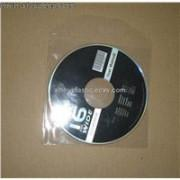 Cheap CD sleeve Plastic Clear CD Sleeve  plastic dvd sleeve dvd sleeves  in PP materail  142*125*0.5mm for 1 discs cheap price for sale