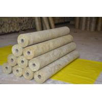 Thermal Rockwool Pipe Insulation Light Weight Thickness