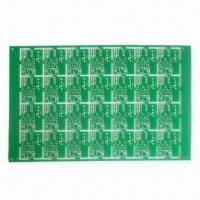 Cheap Double Sided PCB/2 Layers PCB/Rigid PCB with HASL Lead-free Surface Finish, 1.6mm Board Thickness, for sale