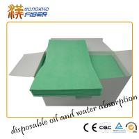Cheap Quarterfold Industrial Cleaning Wipes , Dust Off Anti Static Monitor Cleaning Wipes for sale