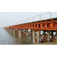 Buy cheap Large Steel Temporary Bridge Construction Painting Surface from wholesalers