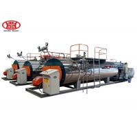Cheap Fire Tube Natural Gas Steam Boiler , Waste Oil 1 - 10t/H Steam Boilers for sale