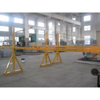 Cheap Lifting Suspension Mechanism Suspended Work Platform With Dipping Zinc / Painted Steel Material for sale
