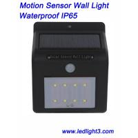 Solar Sensor Wall Led Lights Wireless IP65 Waterproof Outdoor Lighting Motion Sensor for Garden, Yard