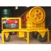 Cheap Mobile Jaw Crusher by using Diesel Engine PE400*600 for sale