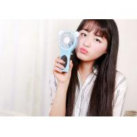 Cheap Foldable Mirror Small Battery Operated Fan Strong Cool Wind No Noise KC Battery for sale