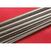 Cheap Plain Stainless Steel Threaded Rod Grade A2 / A4 M100 for sale