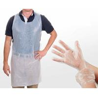 Cheap Safety Disposable Medical Aprons , Disposable Kitchen Aprons 17 Mic Thickness for sale