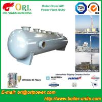 Cheap Silver oil fired boiler mud drum SGS certification manufacturer wholesale