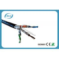 Waterproof Shielded Cat6a Lan Cable For Outdoor Ethernet 4 Pairs OFC 24 AWG