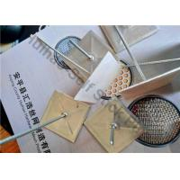 Buy cheap 2.7mm Metal Self Adhesive Insulation Fixing Pins With 50x50mm Base For Dusting from wholesalers
