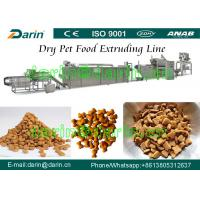 Cheap Dog / cat / bird / fish / Pet Food Making Machine - China Pet Feed Production Line with WEG Motor Three Year Guarantee for sale