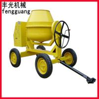 Cheap FA 300L 4 wheels water cooled diesel engine concrete mixer for sale