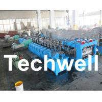 Cheap Galvanized Steel Silo Corrugated Roll Forming Machine With 18 Forming Stations for sale