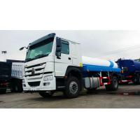 Cheap 10000 Liters Fuel Oil Liquid Tanker Truck Howo 4x2 6 Wheels RHD / LHD for sale