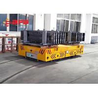 Cheap Long Distance Forklift Battery Transfer Cart Variable Speed Q235 Material for sale