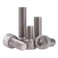 Cheap M8 Plain 12.9 Stainless Steel Hexagon Socket Head Cap Screw DIN912 0.6mm ~ 300mm for sale