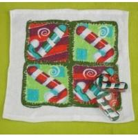 China Christmas Compressed Towel with Cratch Design (YT-680) on sale