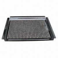 Cheap BBQ Cook Pan/Grill Cook Pan with 0.8mm Thickness for sale