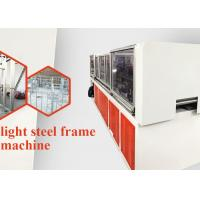 China 13 Rollers Light Steel Roof Truss Machine 7.5kw Main Power for Construction on sale
