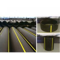 China 0.7 MPa Chemical resistant polyethylene P E pipeline, PE Gas twisted Pipe on sale