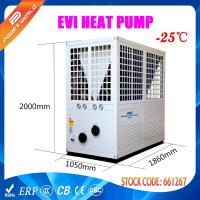 Cheap Hot Water EVI Heat Pump , Air To Water Low Ambient Heat Pump for sale