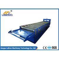 Cheap 380V / 50Hz / 3PH Corrugated Iron Roofing Sheet Making Machine Long Time Service for sale