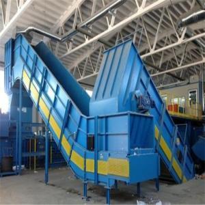 Cheap High Efficiency Slat Chain Conveyor Machine Iron Materials 1200-2600mm Width for sale