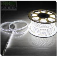 Cheap 50m high CRI waterproof flexible led strip light 5050 smd 240VAC white strips ribbon for sale