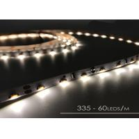 Cheap Warm White Smd 335 Pixel RGB LED Flexible Strip With DC12v 24v 120 Leds / M for sale