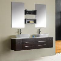 Cheap Home use stainless steel floating bathroom cabinets ,SW-1135 for sale