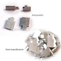 Cheap Steel Cutting Anvil Custom Carbide Tooling Polishing / Blank Surface Treatment for sale
